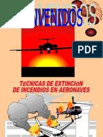 Tc3a9cnicas Extincion de Incendios en Aeronaves