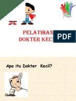A Dokter Cilik Contoh Presentasi Trhdp Anak Sdppt
