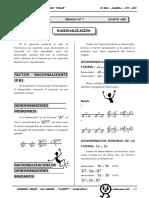 II BIM - 4to. Año - ALG - Guía 7 - Racionalización.doc