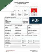 C 05 - Seafarer Employment Application Form ABDUL RAHMAN (1)
