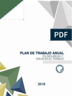 Plan Seguridad Salud en El Trabajo 2018