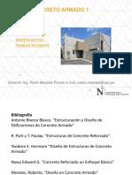 PPT 1.1 - Concreto Armado 1 UPN