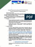 Adresa 49 Răspuns  reluare activitate Comisia de disciplină