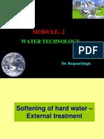Module 1-Water Technology (Dr Rupam Singh)