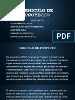 Vehiculo de Proyecto Exposicion Xd