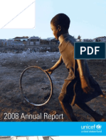 U.S. Fund for UNICEF Annual Report 2008