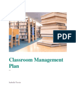 classroom management plan in color