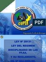 LEY 29131 Ley Del Regimen Disciplinario de Las FFAA