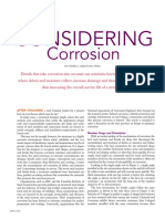 Considering corrosion