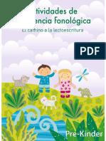 Conciencia Fonológica PRE-KINDER.PDF