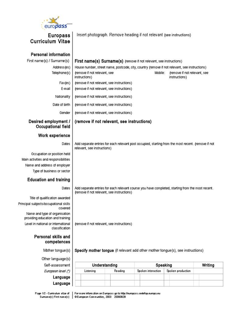 Model-CV-in-engleza doc | Cognitive Science | Psychology