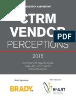 CTRM Vendor Perceptions 2018
