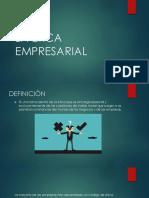La Ética Empresarial