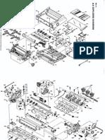 Epson LQ-570 - Parts List