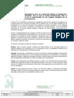 Resolución de 5 de Noviembre de 2018 (Día Constitución)