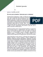 Benfeitor Ignorado - Olavo de Carvalho