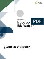 Intro a Watson