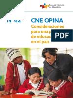 Consideraciones educación rural