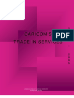 CARICOM Trade in Services 2000-2005