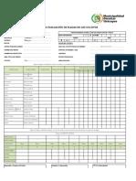 Ficha de Evaluacion de Oca