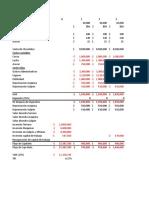 Solución Ejercicios Con y Sin Financiamiento