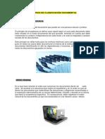 Principios de Clasificación Documental
