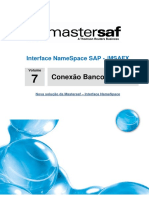 Mastersaf Interface Namespace SAP DW Manual 7 Conexao Banco a Banco