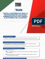 Cartilla Notificacion Electronica - Piloto