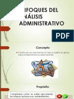 Enfoques Del Análisis Administrativo