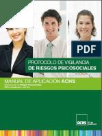 Manual Aplicación Protocolo de Riesgos Psicosociales