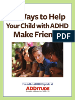 14 Ways to Help Your Child With ADHD Make Friends