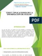 EDAFOLOGIA Usos y aplicaciones de la información de suelosss.pptx