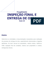 Guia 16 - Inspeção Final e Entrega de Obra - Rev00