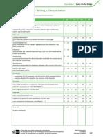 Peer Evaluation Characterizations
