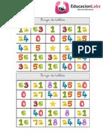 BINGO DE TABLAS CARTONES.pdf