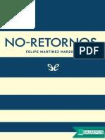 No-retornos - Felipe Martinez Marzoa.epub