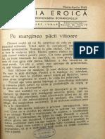 Romania Eroica anul V, nr. 11-12, martie-aprilie 1942