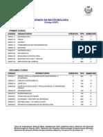 Currículo Biotecnologia