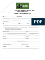 REFS Rental Application