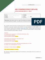 SOLUCIONARIO DE CURSO DE CONSTRUCCION 1