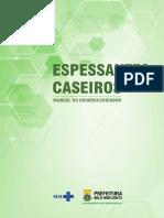 Cartilha Espessantes Caseiros Manual Usuario Cuidador