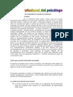 Etica Profesional Del Psicologo- Tarea II