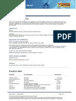 Hardtop Flexi Technical Data Sheet