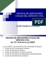 SERVIDORES CIVILES