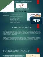 Alteraciones Del Lenguaje Expo