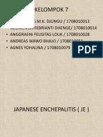 KELOMPOK 7 (JAPANESE ENCHEPALITIS).pptx