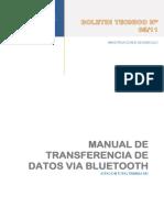 Bol Nº2011-05 Manual Transferencia Bluetooh Et m3