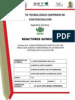 Practica 4. Reactores Quimicos.