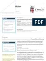 Case Study Brown University