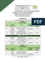 Seminário de qualificação I Social PPGPSI